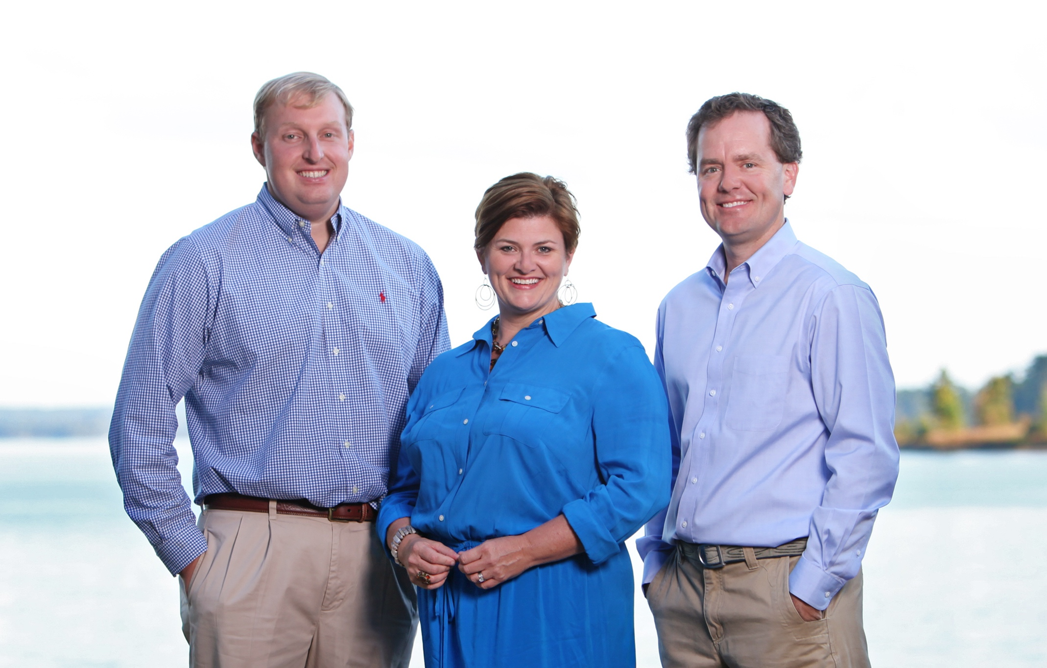 l-r: John Christenberry, Agent; Paige Patterson, Agent; John Coley, Agent / Broker / Owner