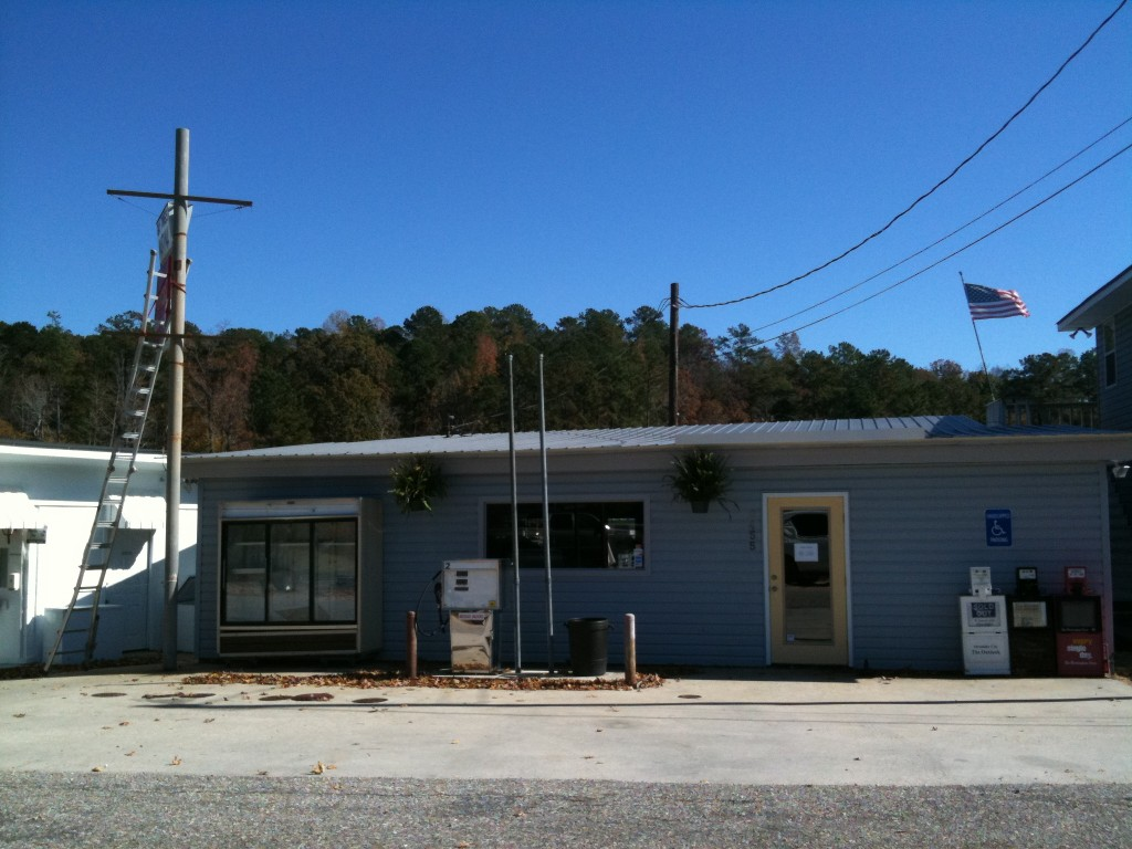 bay pine marina lake martin store front