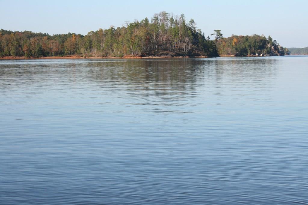 lake martin chimney rock
