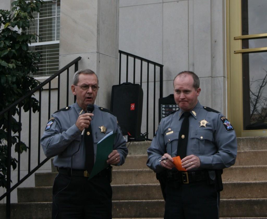 Tallapoosa County Sheriff Jimmy Abbett explains Scrushy lake martin home auction