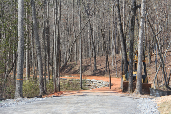 Path to Highway 63 Tunnel