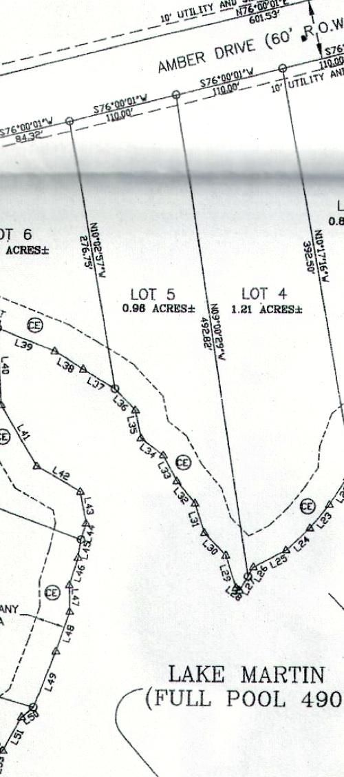 Lot 5 Shady Bay Map