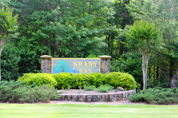 Garden By The Bay Entrance shady bay on lake martin, al | lake martin voice