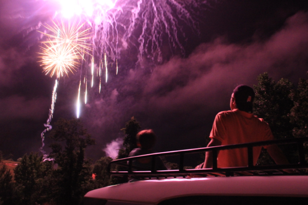Best Place to Watch Lake Martin Fireworks