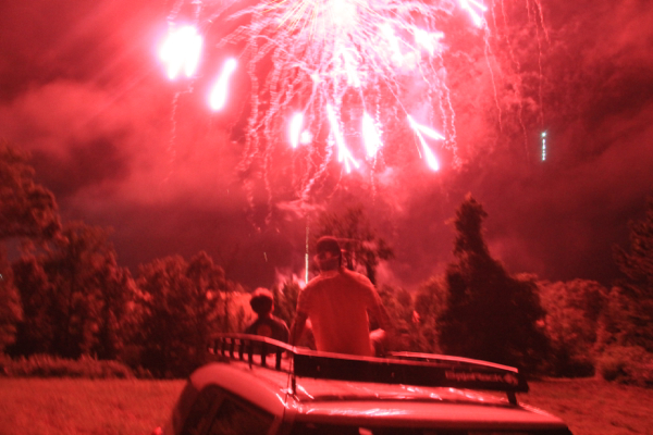 Best Place to Watch Lake Martin fireworks 2