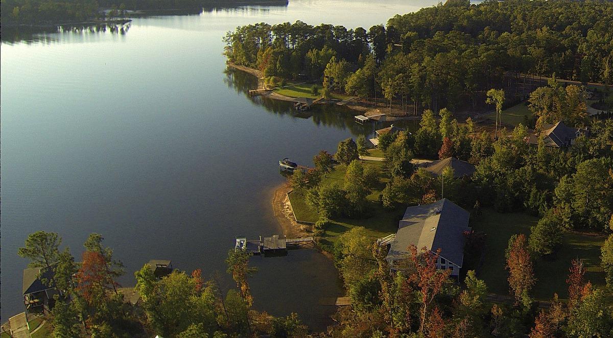 lake martin by air