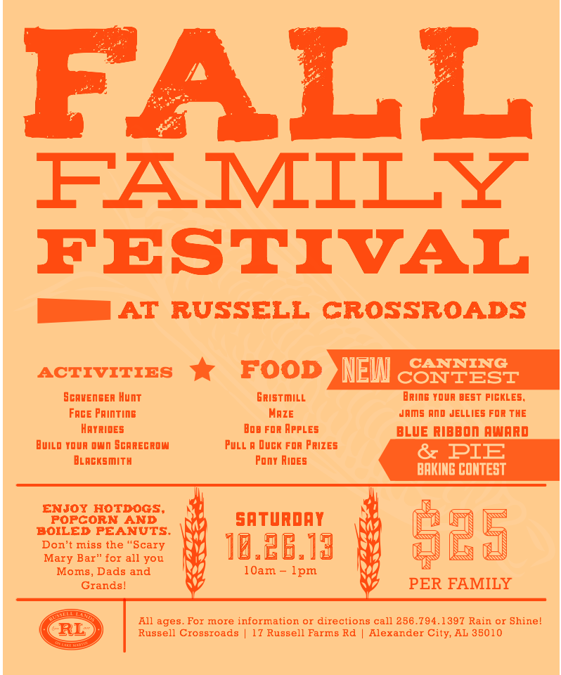 russell crossroads fall festival