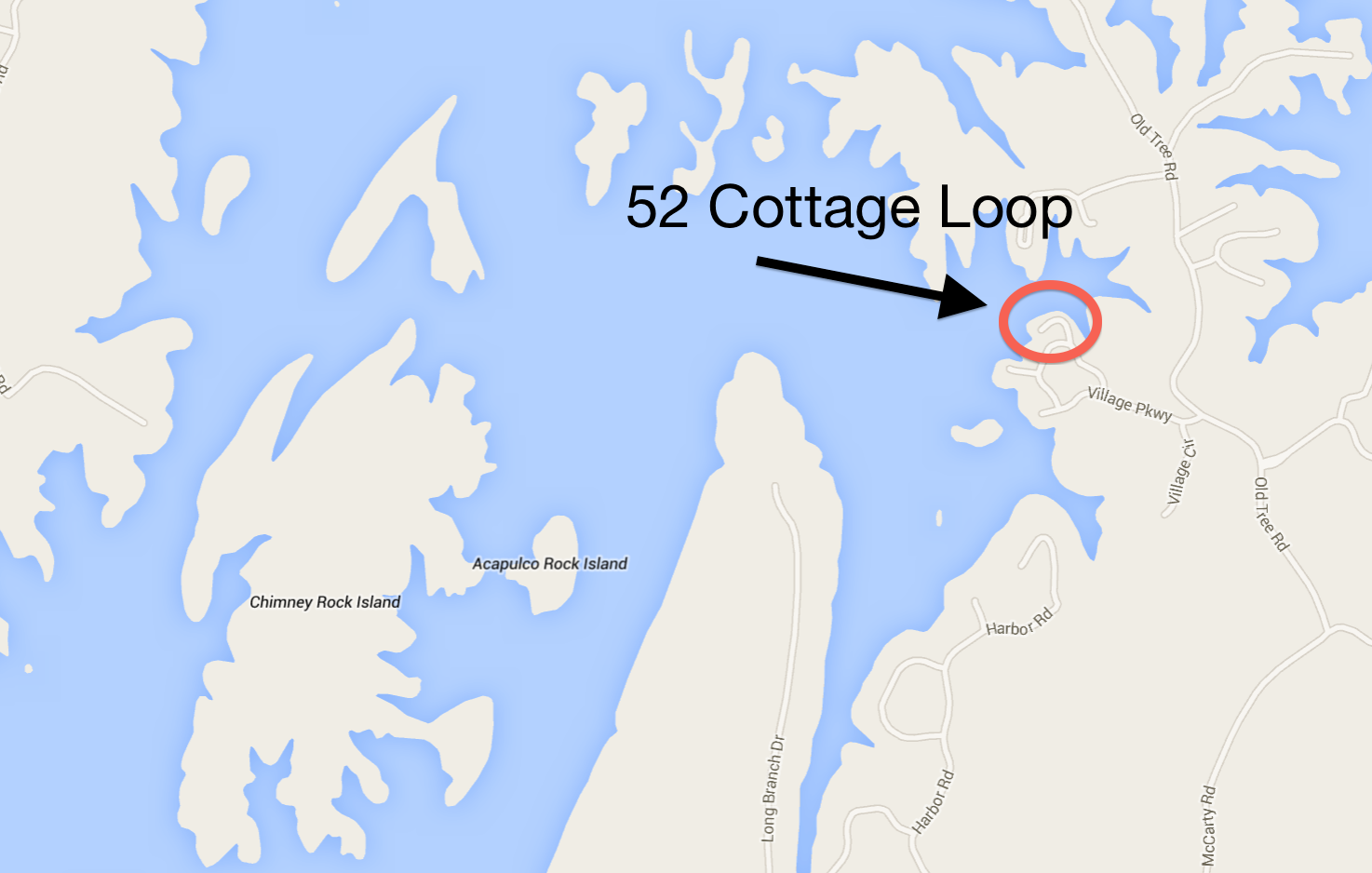 52 Cottage Loop on Lake Martin, AL
