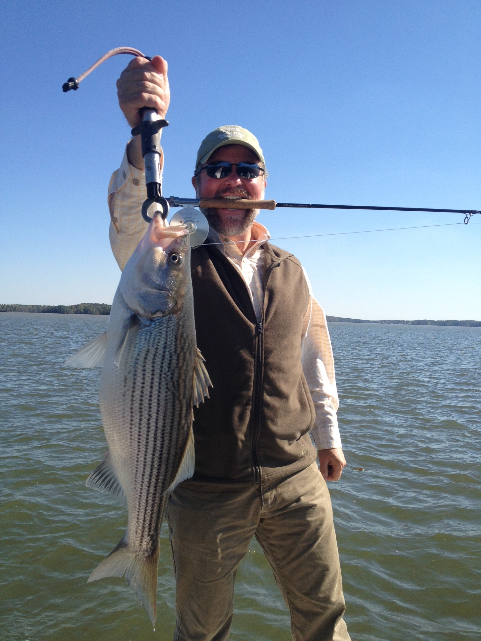 Striper Fishing on Lake Martin