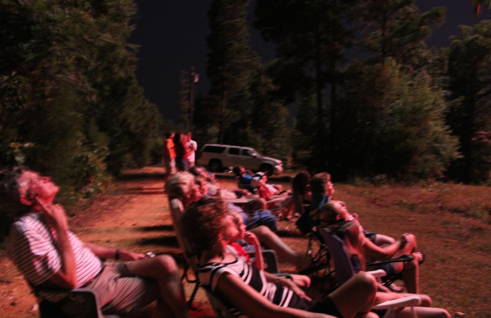 Fireworks at Lake Martin
