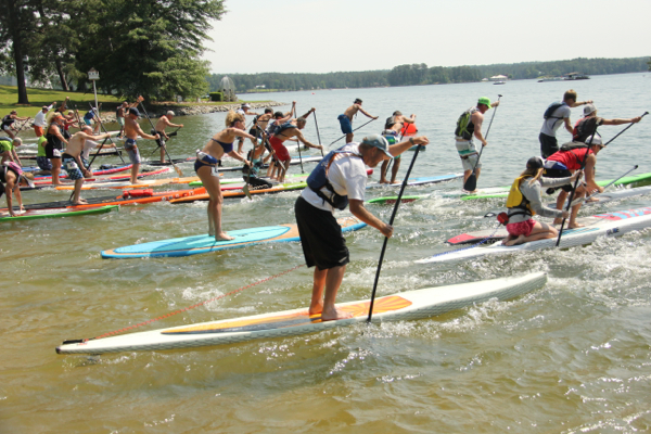 Paddle Board Race 2015