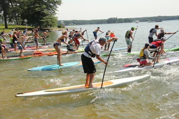 Paddle Board Race 2015