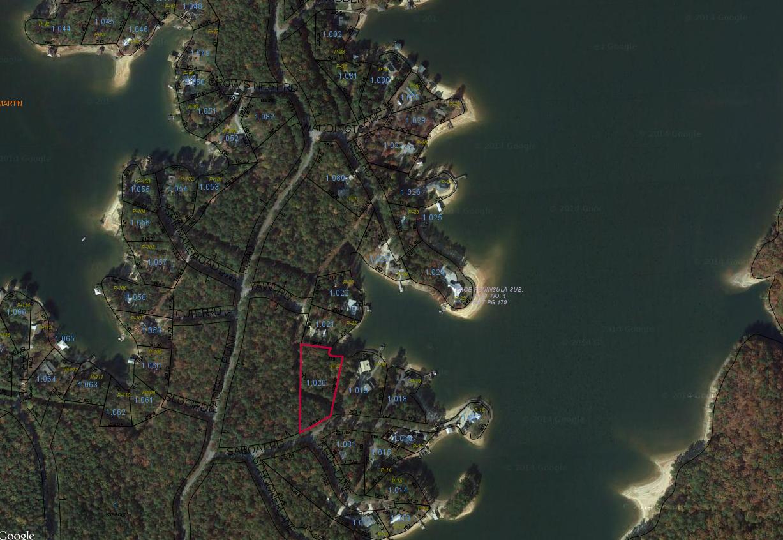 P-21 Satellite Map Paces's Peninsula