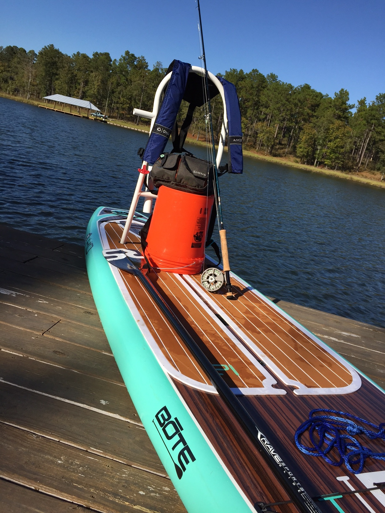 How To Catch Striped Bass On A Paddle Board Lake Martin