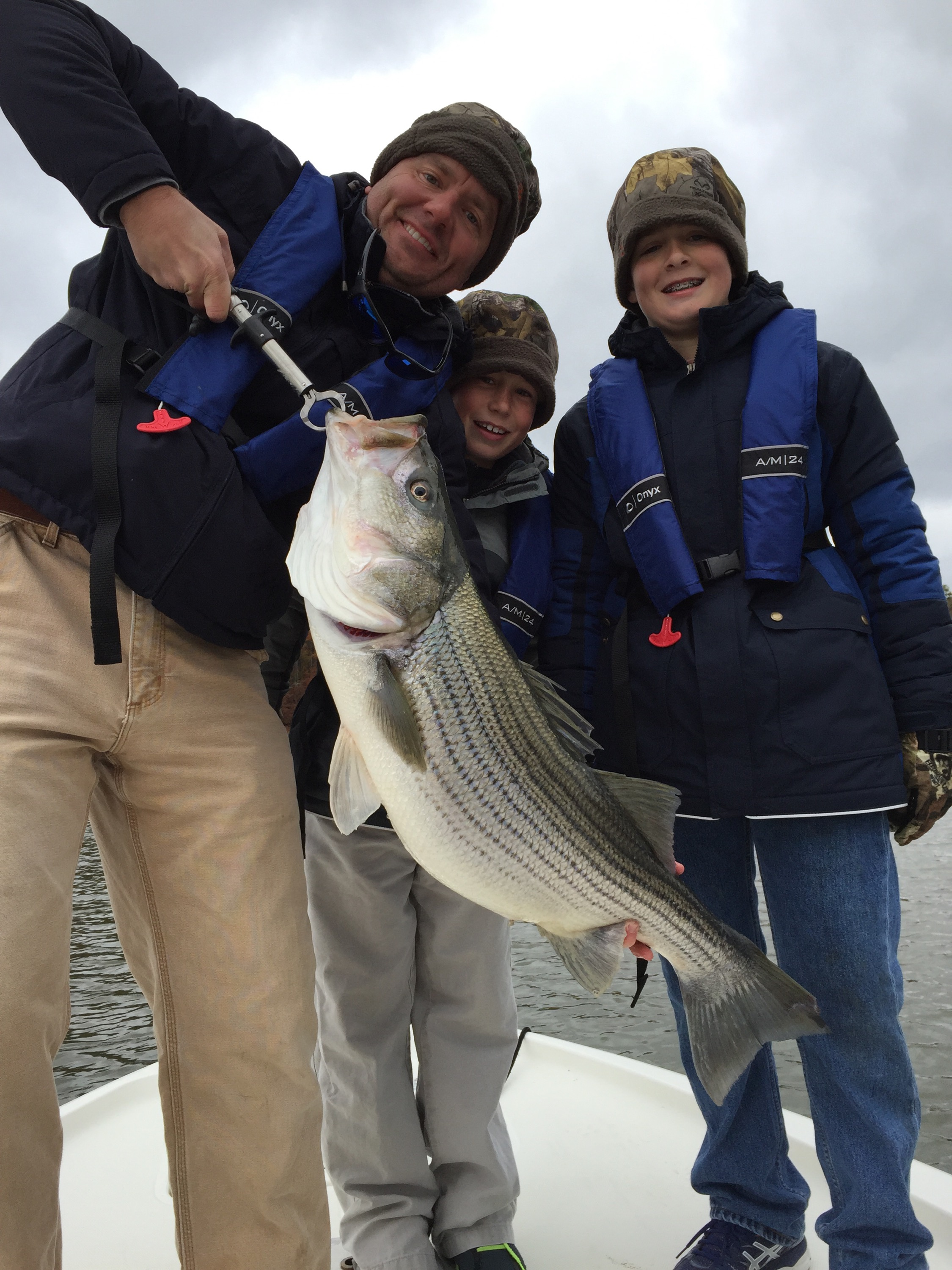 Lake Martin striped bass
