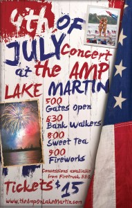 4th of July at The Amp