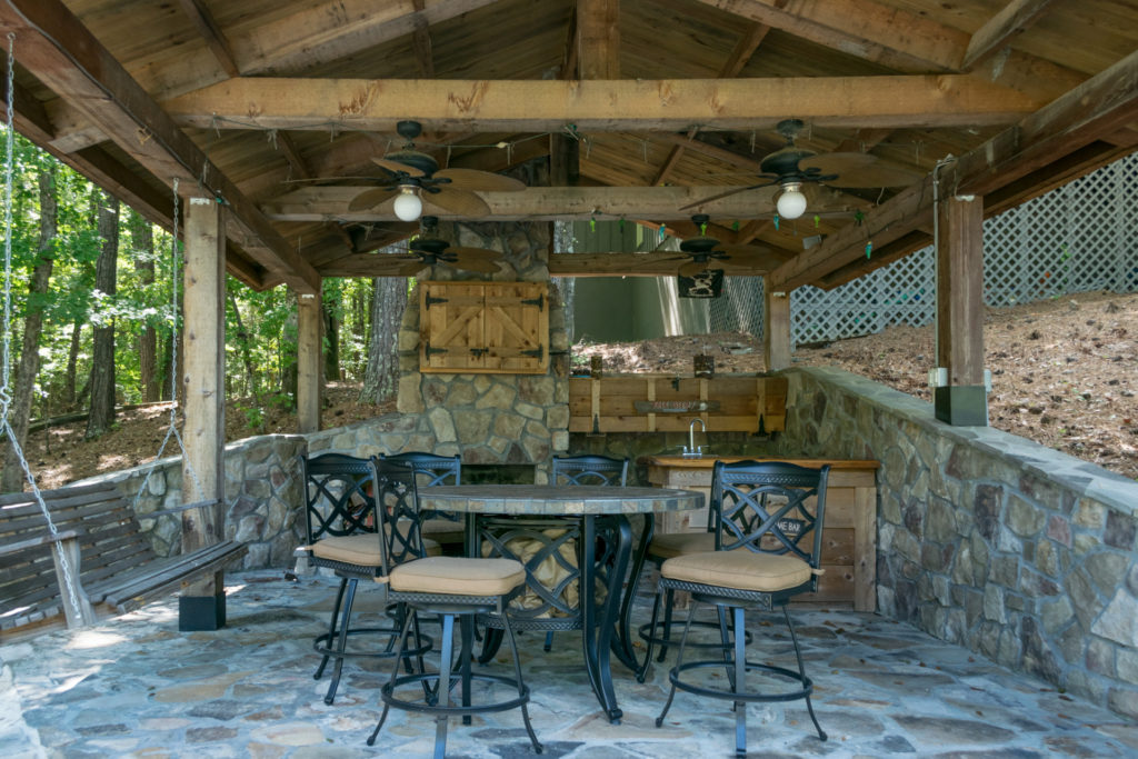 570 Wake Robin View of Outdoor Living Area