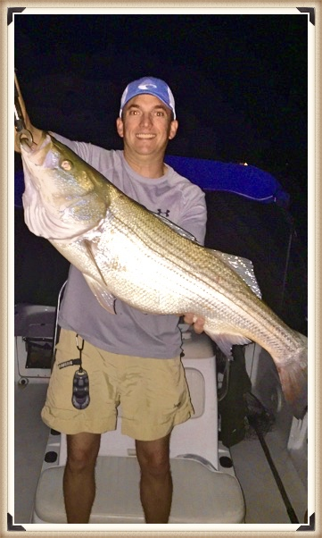 September 30+ lb. striper on Lake Martin with Alex City Guide Service and Jonathan Burton of Birmingham, AL