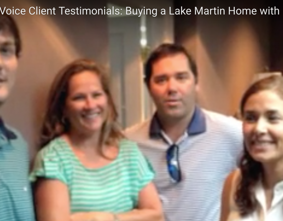 Buying a Lake Martin home with friends