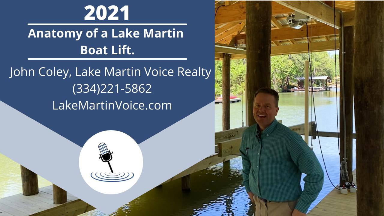 Anatomy of a Lake Martin Boat Lift